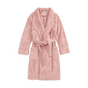 Girl's Pj Salvage Waffle Weave Robe, Size 12-14 - Pink