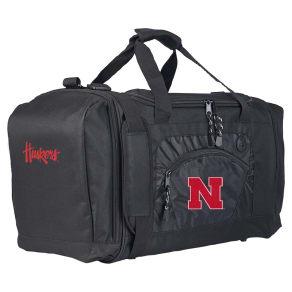 Ncaa Northwest Roadblock Duffel Bag Nebraska Cornhuskers - 20x11.5