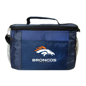 Nfl Denver Broncos 6-Can Cooler Bag