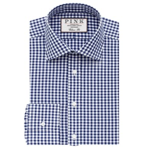 Summers Check Classic Fit Button Cuff Shirt