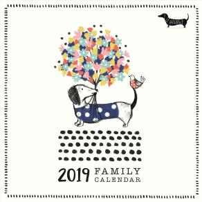 Portico Call Me Frank Square 2019 Family Calendar