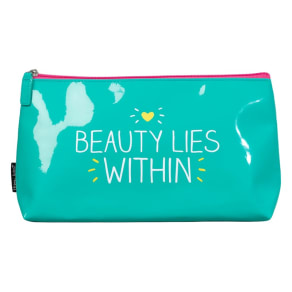 Happy Jackson Beauty Lies Within Wash Bag