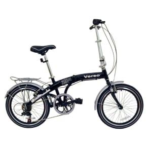 Kettler Gender Neutral Verso Cologne Folding Bike - Black (20)