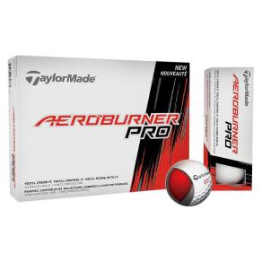 Taylormade Aeroburner Pro Golf Balls 12pk - White