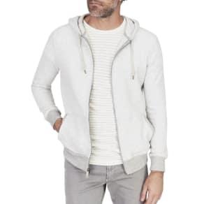 Men's Saturday Zip-Front Hoodie Sweatshirt