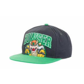 Bowser Nintendo Nin Arch Snapback Cap