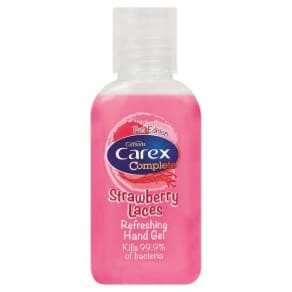 Carex Hand Gel Strawberry Laces
