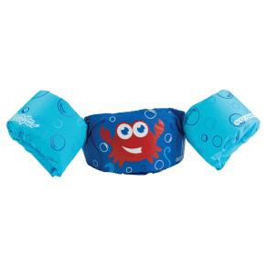 Stearns Puddle Jumper Life Jacket - Red Crab, Blue/Red