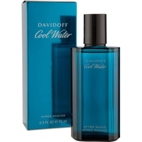 Davidoff - Cool Water for Men - 75ml Aftershave.