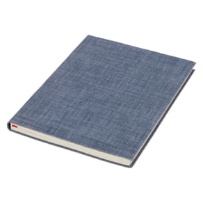 John Lewis Coastal A5 Linen Notebook