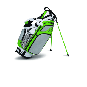 Callaway Golf 2017 Fusion Stand Bag-White/Acid Green/Black, White/Acid Green/Black