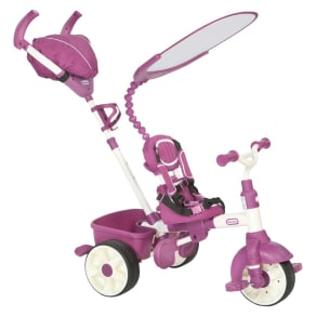 Little Tikes 4-In-1 Sports Edition Trike - Pink, Pink/White