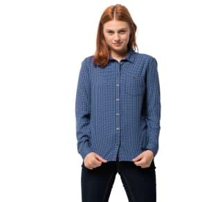 Jack Wolfskin Shirt Alin Shirt M Blue