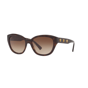 Versace Ve4343 56 Brown Butterfly Sunglasses