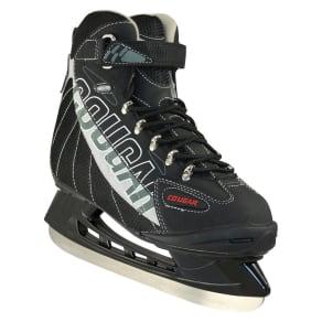 Cougar Men's Size 6 Black/Gray Soft Boot Hockey Skate, Variation Parent