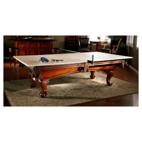 American Heritage Billiards Table Tennis Conversion Top With Accessory Kit - Tan