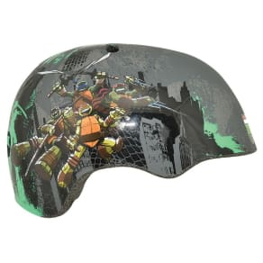 Teenage Mutant Ninja Turtles Patches Child Helmet - Gray, Green