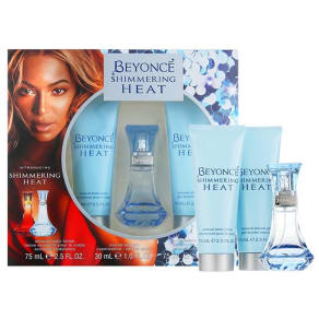 Beyonce Shimmering Heat Eau De Parfum 30ml, Sensual Body Lotion 75ml &