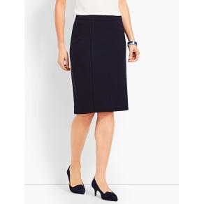 Talbots Women's Italian Luxe Knit Pencil Skirt