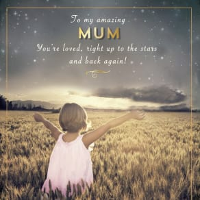 Pigment to My Amazing Mum Mother's Day Card