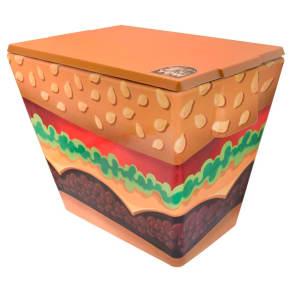 Yew Stuff 20 Liter Cooler - Burger, Green