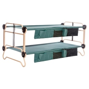 Discobed Camo Bunk Xl 2 Orgnzrs, Green