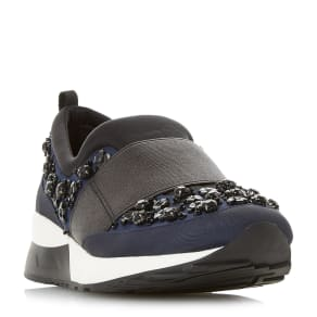 Elisha Slip On Embellished Running Trainer