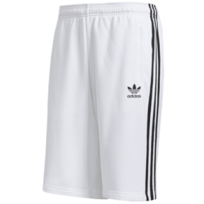 Adidas Originals 3 Stripe Shorts - Mens - White