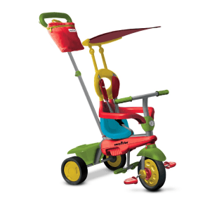 Smartrike Joy 4-In-1 Trike - Red/Green/Yellow