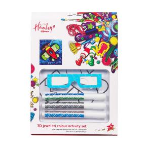 Hamleys 3D Tri Colour Markers