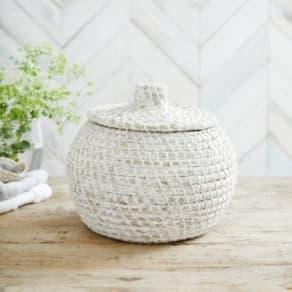 Alibaba Small Round Basket