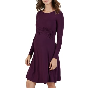 Isabella Oliver Saskia Maternity Dress, Red Cherry
