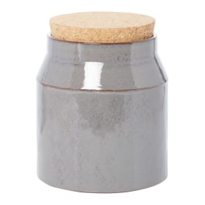 Gray & Willow Rustic Ceramic Utensil Jar