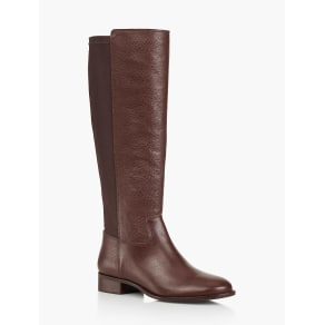 Talbots Women's Tish Pebbled Leather Stretch Riding Boots
