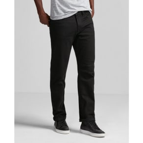 Express Mens Classic Straight Black Stretch Jeans