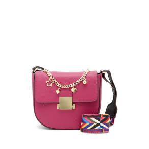 Aria Leather Charm Crossbody Bag