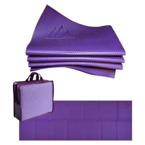 Khataland Yofomat Pro Folding Yoga Mat - Purple