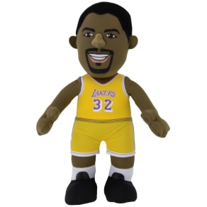 Bleacher Creatures Magic Johnson Los Angeles Lakers Plush Player Doll