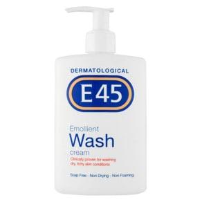 E45 Dermatological Emollient Wash Cream 250ml