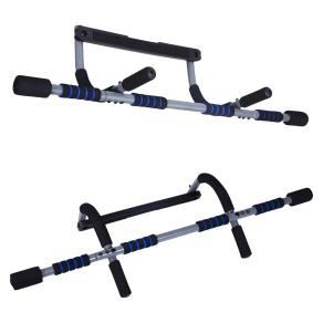 Pure Fitness Multi-Purpose Workout Bar, Black
