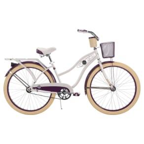 Huffy Women's Deluxe 26 Classic Cruiser Bike - White