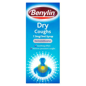 Benylin Dry Coughs 7.5mg/5ml Syrup