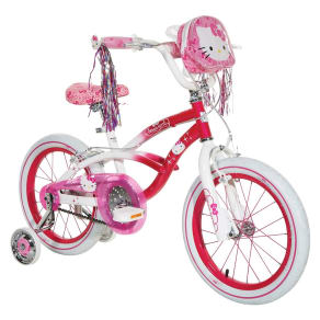 Hello Kitty Girl's Bike - Pink/White (16)