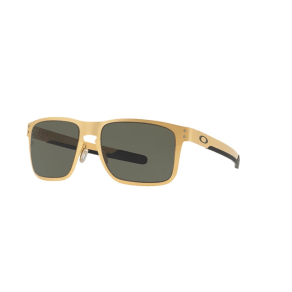 Oakley Oo4123 55 Holbrook Metal Gold Square Sunglasses