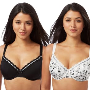 Gorgeous Dd+ 2 Pack Underwired Padded T-Shirt Bras