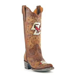 Gameday Boots Women's Boston College Leather Boots, Size: 11, Brass