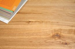Natural Solid Oak UV Lacquered 20mm By 120mm By 300-1200mm