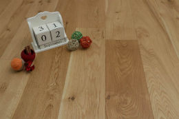 Natural Engineered Flooring Oak UV Oiled 15/4mm By 240mm By 2300mm