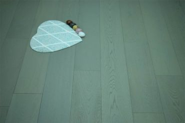 Natural Engineered Flooring Oak London Grey Brushed UV Oiled 14/3mm By 190mm By 400-1500mm