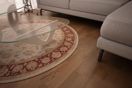 Natural Engineered Oak Smoked Brushed Uv Oiled 15/4mm By 220mm By 2200 ABCD